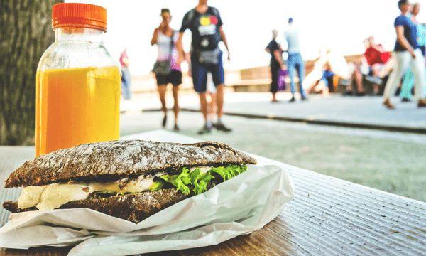 Alimentación de un deportista