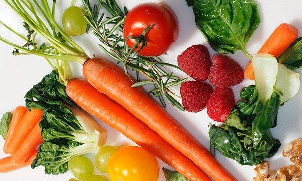 Dieta rica en alimentos alcalinos