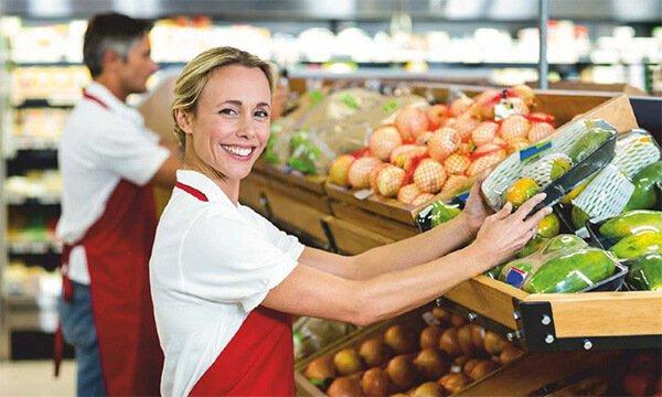 ¿Qué hacer para trabajar en un supermercado?