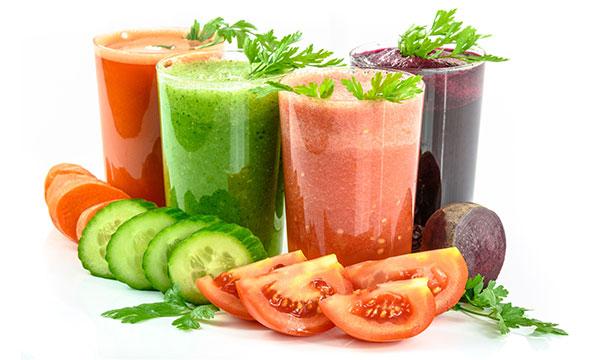 Alimentos detox para dietas depurativas