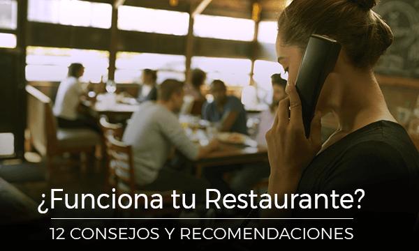 ¿Funciona tu Bar-Restaurante? 12 Consejos Utiles