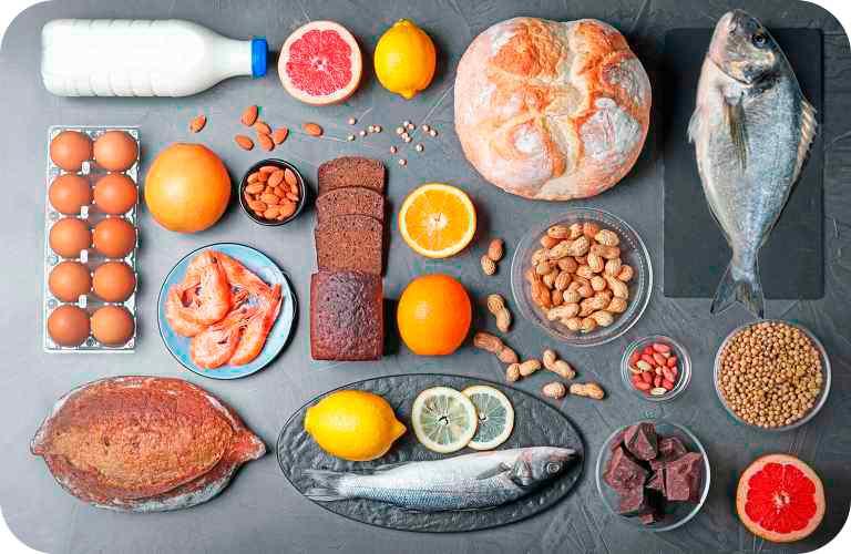 Alergias e intolerancias en alimentos