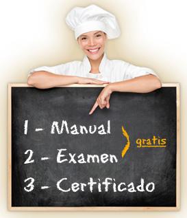 Certificado Carnet de Manipulador de Alimentos